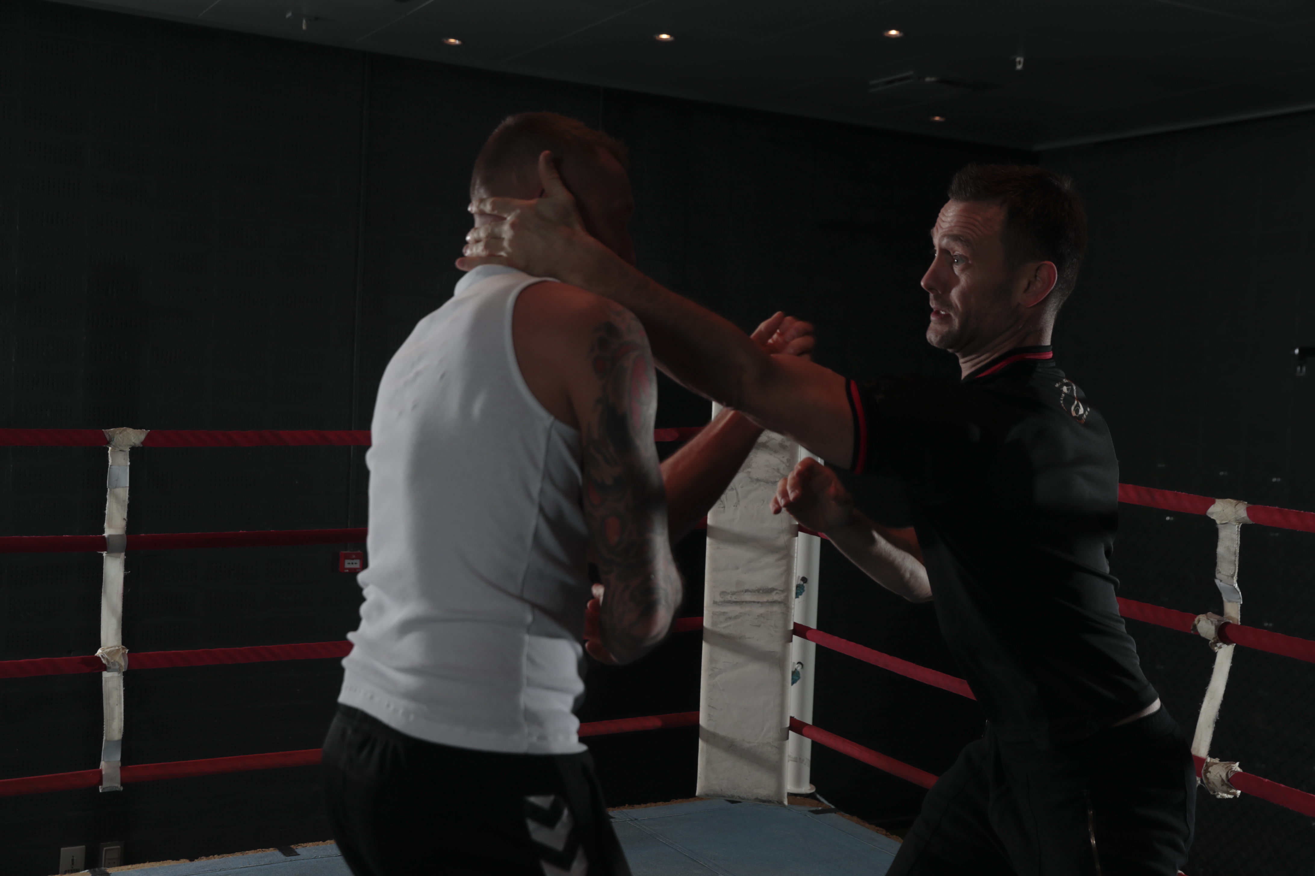 practical wing chun in a boxing ring 3
