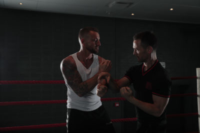 practical wing chun in a boxing ring