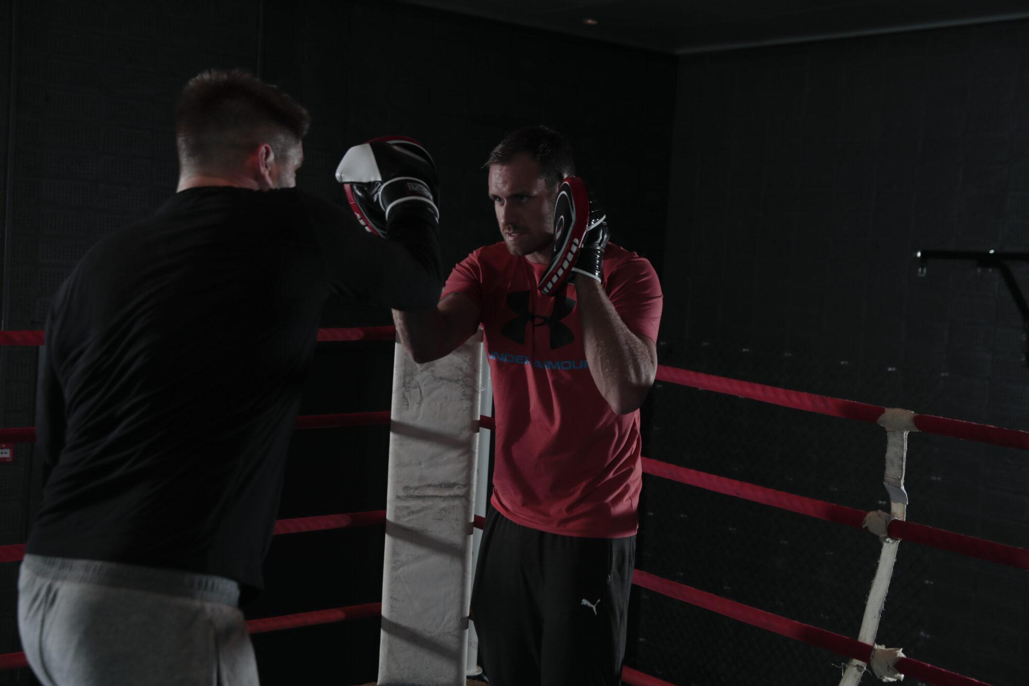 Motionsboksning med Kimose