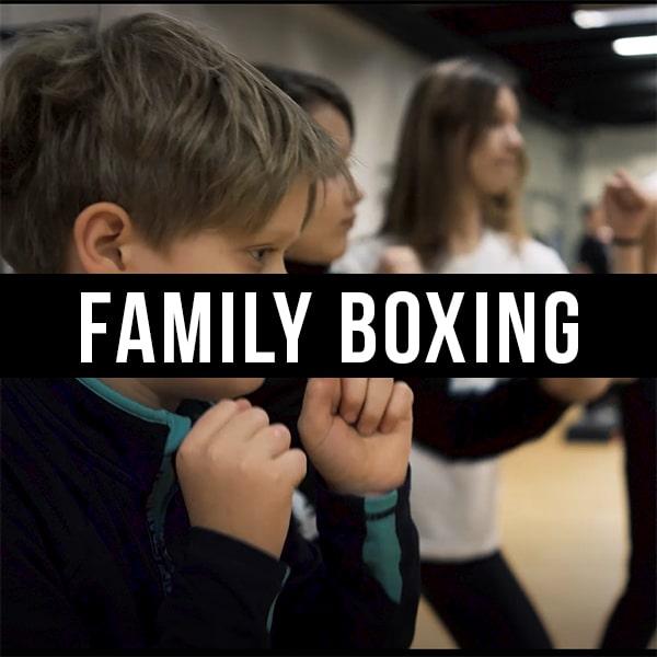 Holdtræning Familie boksning