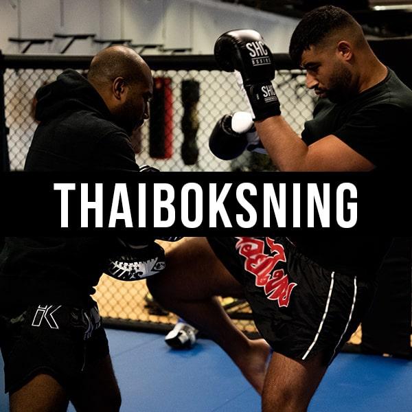 Holdtræning Thaiboxing