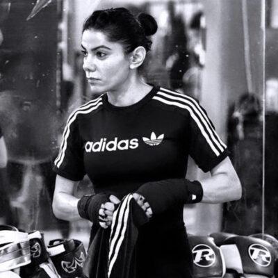 Sophia Ghani boksetræning